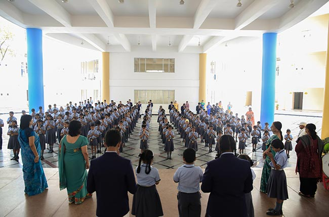 TIME School Assembly Point